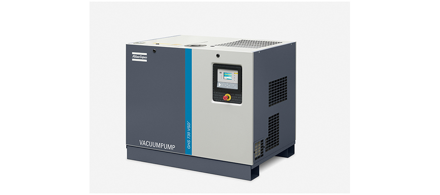 Oil-sealed vacuum pumps